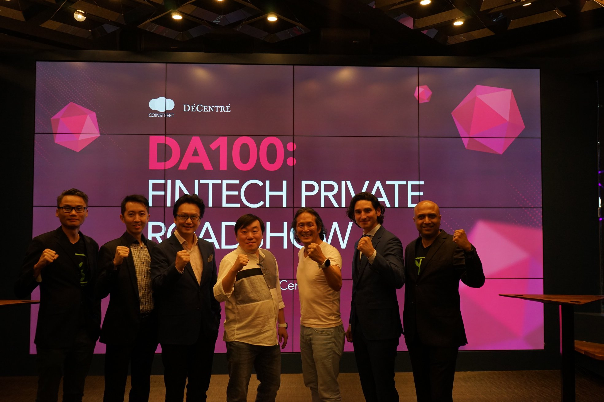 'DA100 FINTECH PRIVATE STO ROADSHOW'